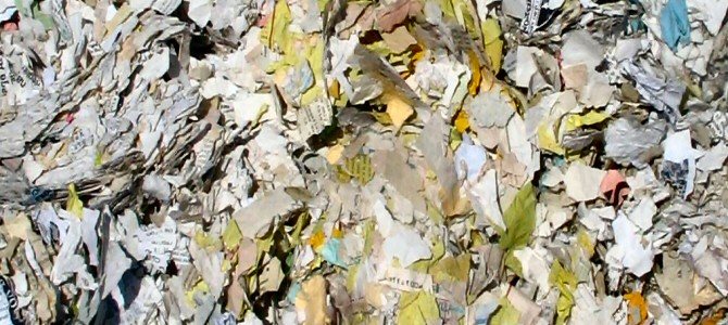 Document shredding services by Advanced Shred
