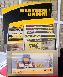 Western Union Display