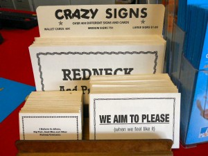 Crazy Signs