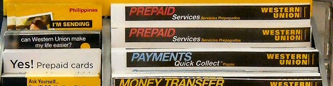 Western Union Money Orders